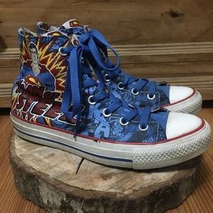 Converse Chuck Taylor Man Of Steel Sneakers Size 5